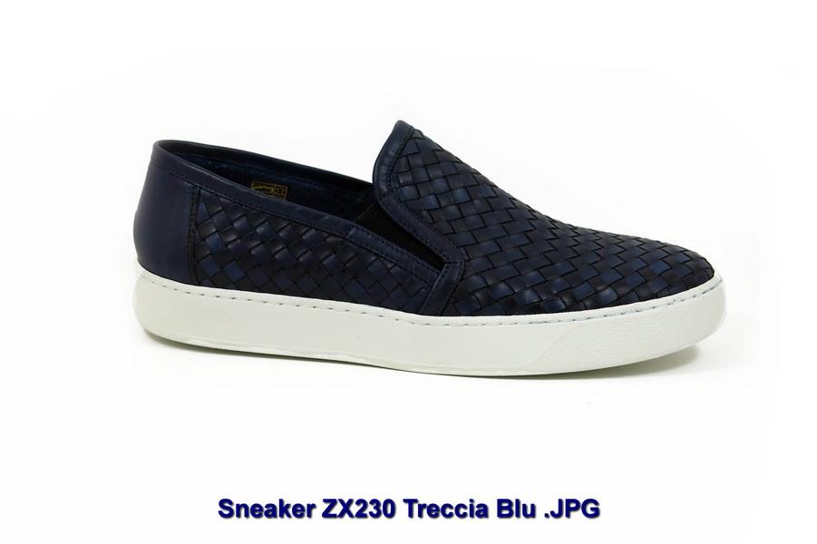 Sneaker ZX230 Treccia Blu _ridimensiona