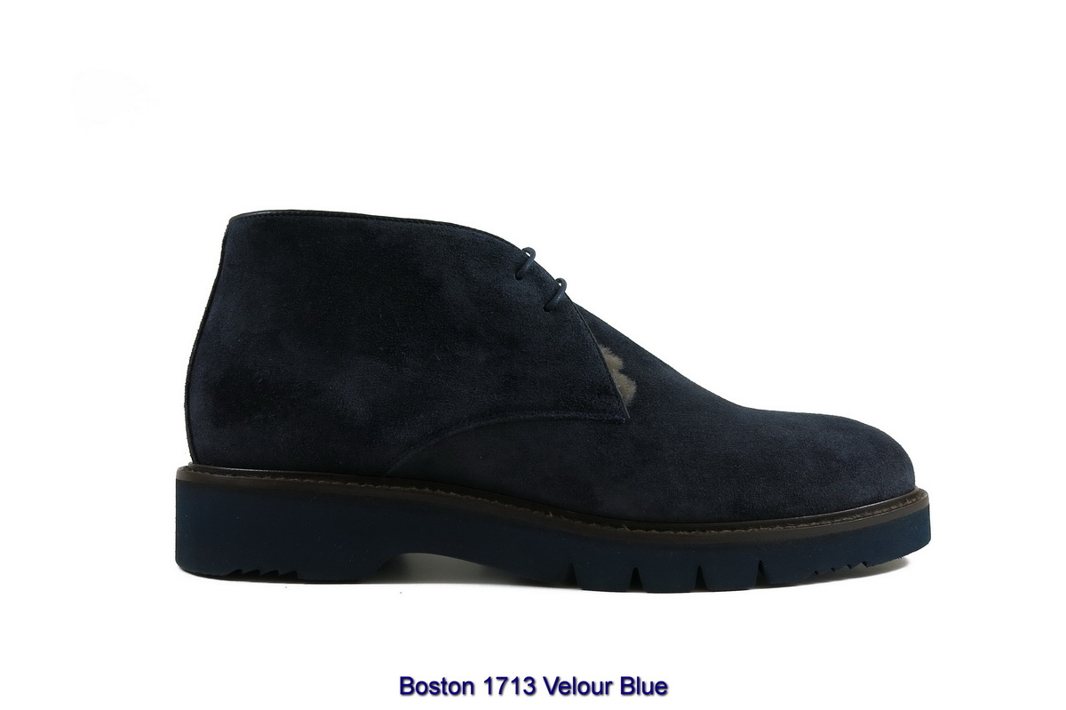 Boston 1713 Velour Blue