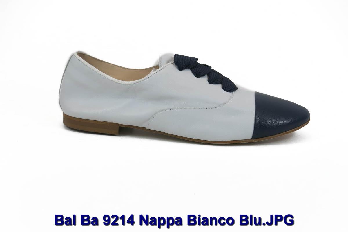 Bal Ba 9214 Nappa Bianco Blu