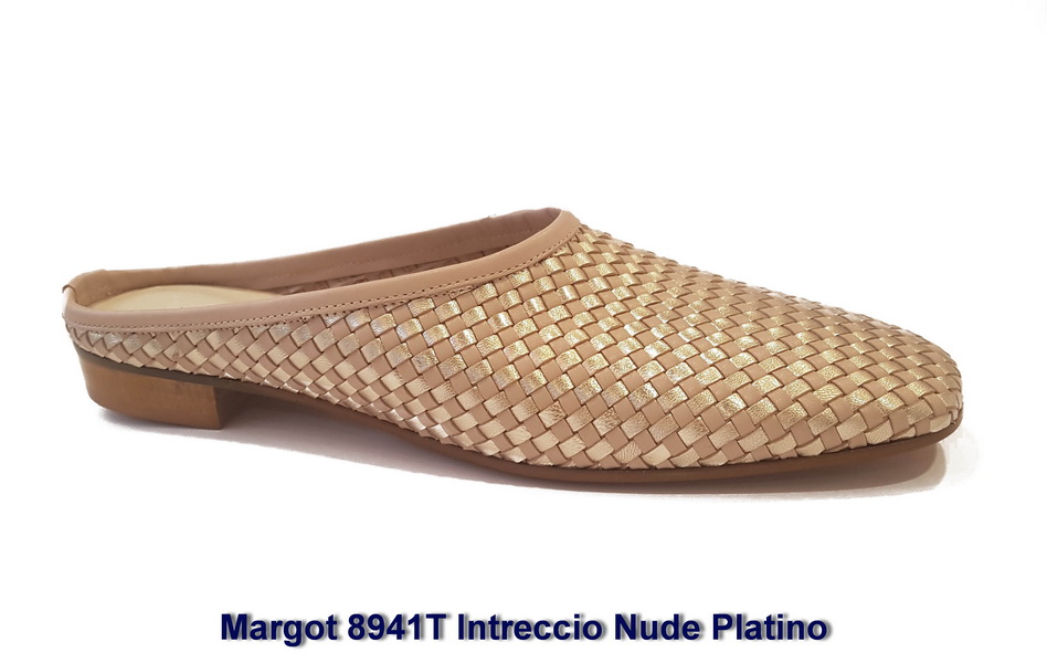 Margot 8941T Intreccio Nude Platino