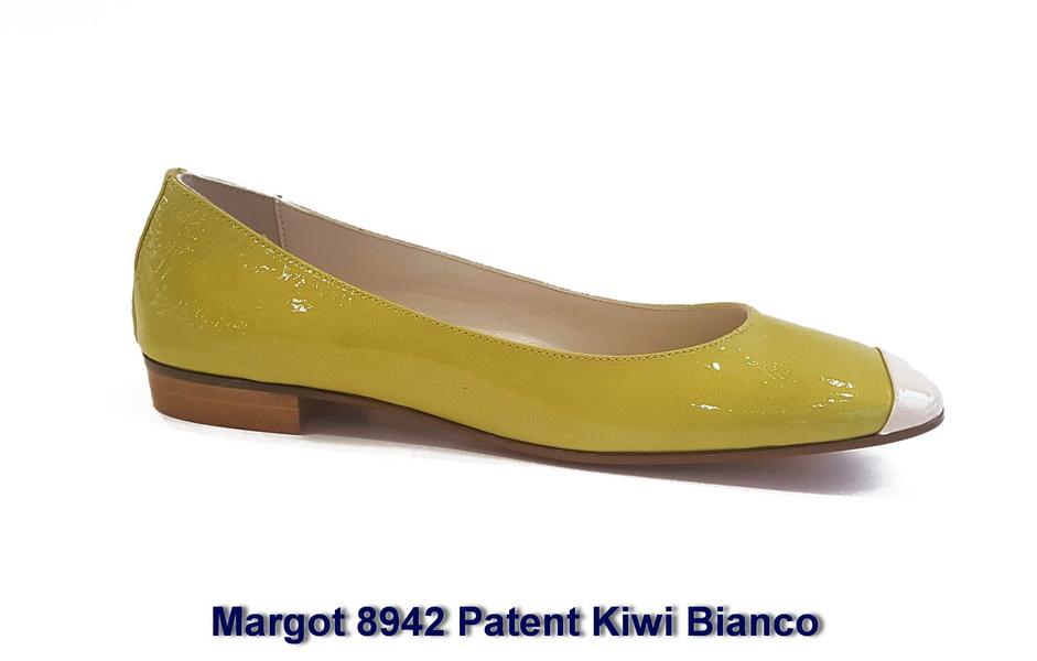 Margot 8942 Patent Kiwi Bianco