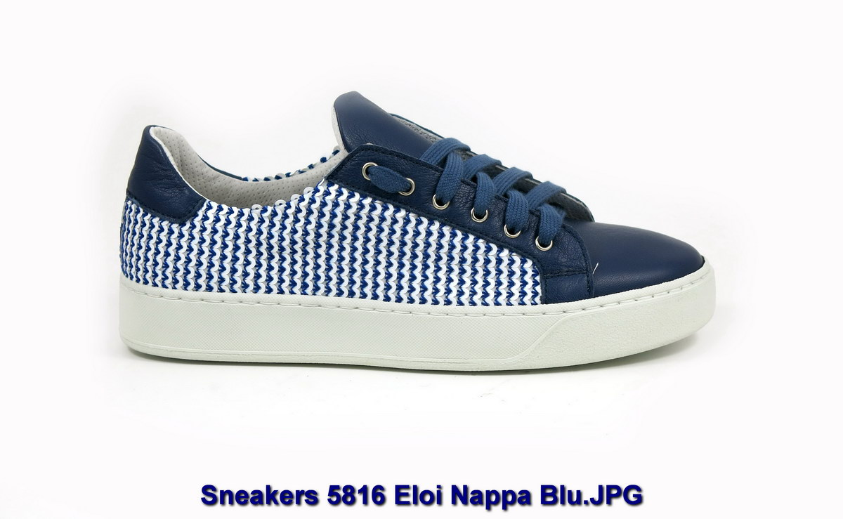 Sneakers 5816 Eloi Nappa Blu