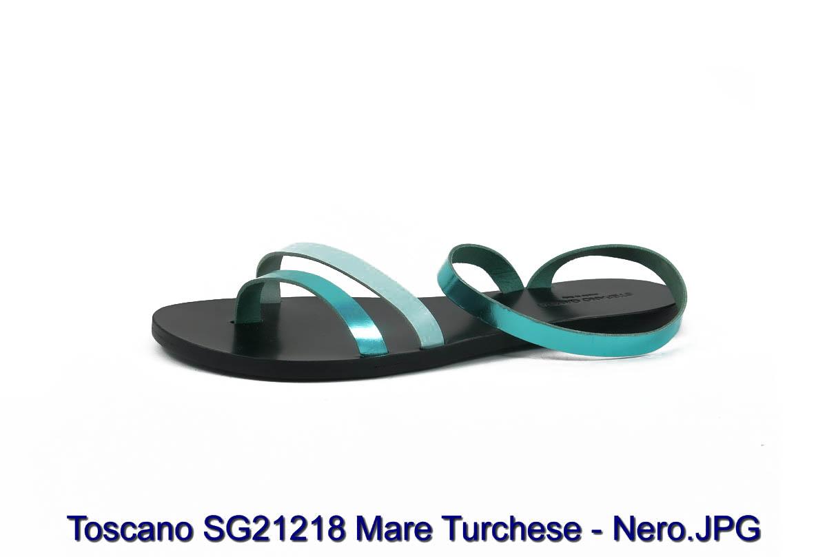 Toscano SG21218 Mare Turchese - Nero