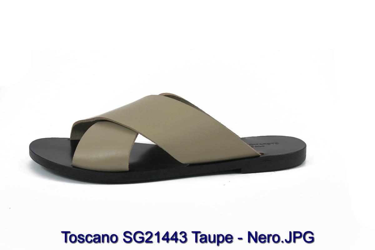 Toscano SG21443 Taupe - Nero