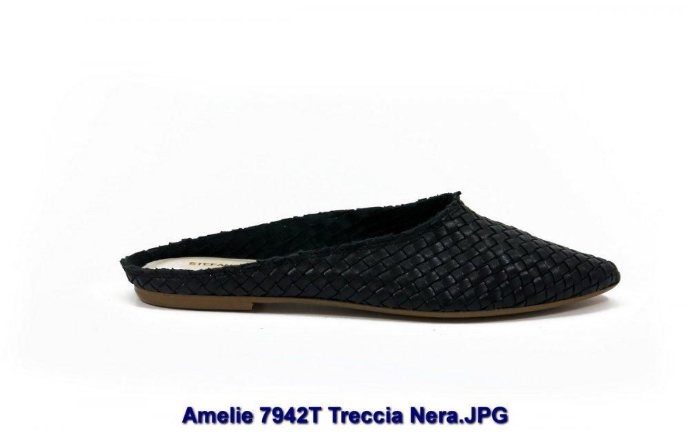 Amelie 7942T Treccia Nera