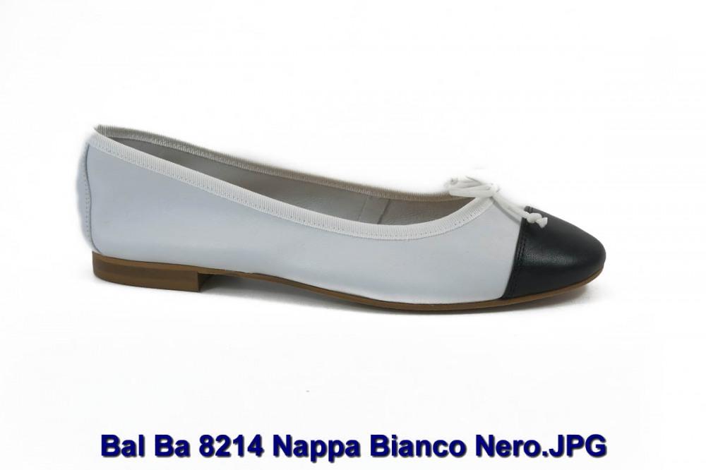 Bal Ba 8214 Nappa Bianco Nero