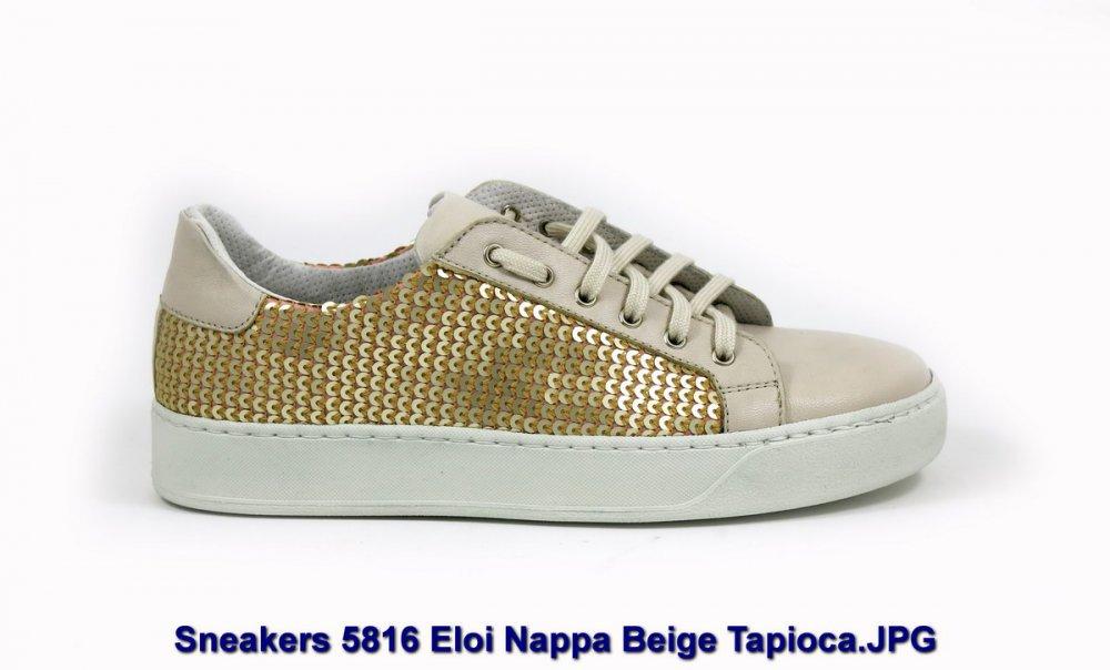 Sneakers 5816 Eloi Nappa Beige Tapioca