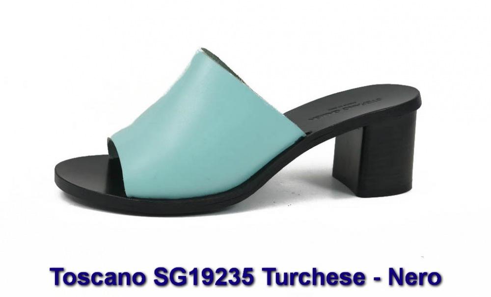 Toscano SG19235 Turchese - Nero