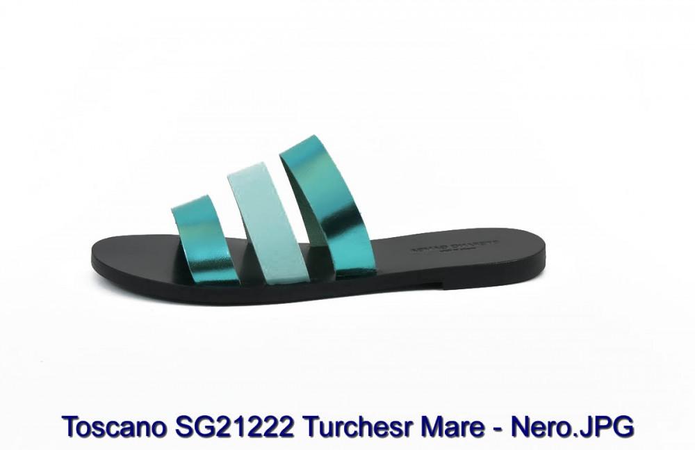 Toscano SG21222 Turchesr Mare - Nero