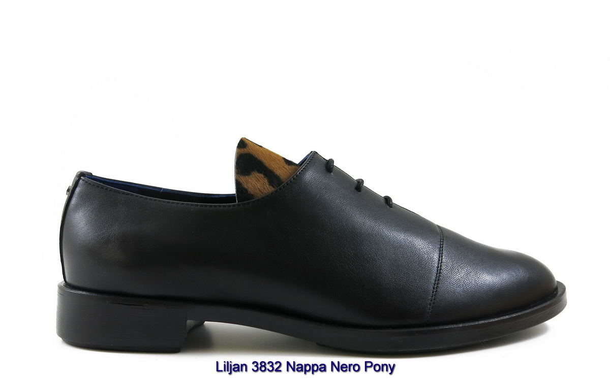 Liljan 3832 Nappa Nero Pony