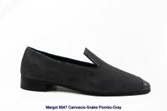 Margot 8947 Camoscio-Snake Piombo-Gray