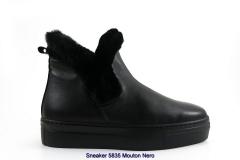 Sneaker 5835 Mouton Nero